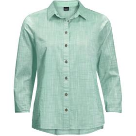Jack Wolfskin Emerald Lake Maglietta a maniche lunghe Donna, turchese
